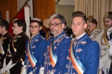 Die Chargierten der KTStV Pontana am Festkommers v.l.n.r.: Vicente Sanz Seguí, Carl Prämaßing und László Dudás