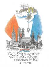 90. Stiftungsfest der K.D.St.V. Bayern München
