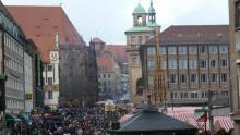 Christkindlesmarkt am Hauptmarkt in Nürnberg